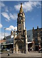 SX9163 : Clock tower, Torquay by Derek Harper