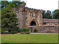 SD7336 : Whalley Abbey - North East Gatehouse by David Dixon