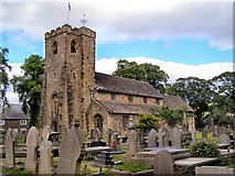 SD7336 : The Parish Church of St Mary & All Saints, Whalley by David Dixon