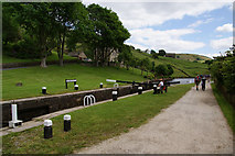 SD9321 : Lightbank Lock No. 31 on the Rochdale Canal by Bill Boaden