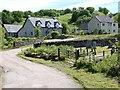 NR7387 : Houses at Carsaig by Patrick Mackie