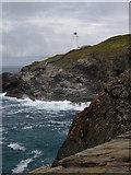 SW8576 : Trevose Head Lighthouse by Val Pollard