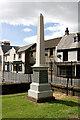 NS5337 : An obelisk in Loudoun Parish Churchyard by Walter Baxter