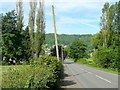 SO5304 : A466 Wye Valley Road by Jonathan Billinger