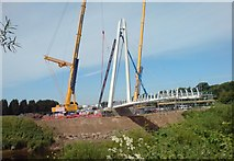 SO8453 : New bridge taking shape by Andrew Darge