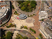 SZ0891 : Bournemouth: The Square from above by Chris Downer
