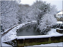 ST7565 : Canal  in snow by Neil Owen