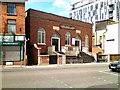 SJ8398 : Chapel Street and Hope United Reformed Church by David Dixon