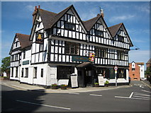 SO8832 : The Bell Hotel, Tewkesbury by Philip Halling