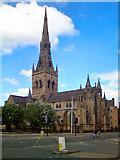 SJ8298 : Salford Cathedral by David Dixon