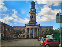 SJ8298 : The Church of St Philip with St Stephen, Salford by David Dixon