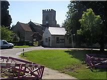 SP7433 : St Mary's Church by Shaun Ferguson