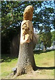 NU0702 : Owl Tree Sculpture by Barbara Carr