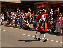 SZ0893 : Winton: town cryer leads the carnival parade by Chris Downer
