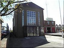 J0153 : Portadown Fire Station. Thomas Street Portadown by HENRY CLARK