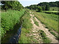 SJ9655 : Staffordshire Way footpath by Chris Wimbush