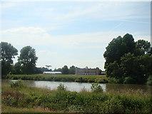 TQ1776 : Syon House, viewed from Kew Gardens by Robert Lamb