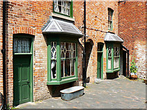 SP0786 : Back yard, Court 15, Inge Street, Birmingham (7) by Brian Robert Marshall