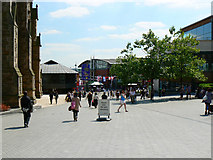SP0786 : A view south from the Bullring, Birmingham by Brian Robert Marshall