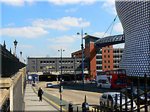 SP0786 : View from Moor Street Station, Birmingham by Brian Robert Marshall