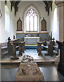 TF7928 : St Martin's church in Houghton - the chancel by Evelyn Simak