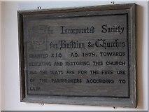SU8518 : Notice in Bepton church porch by Shazz