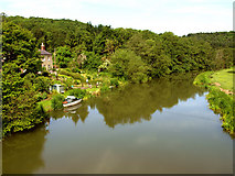 SE7365 : The River Derwent at Kirkham Abbey by Andy Beecroft