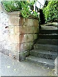NY6820 : Benchmark on Bongate House by Roger Templeman