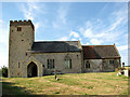TF8529 : All Saints' church in Tattersett by Evelyn Simak