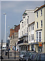 TQ8209 : Shops on Marine Parade by Oast House Archive