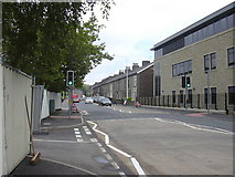 SD8122 : New Pedestrian Crossing, Bacup Road by Robert Wade