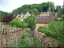 SP1634 : Cottages in Blockley by Michael Dibb