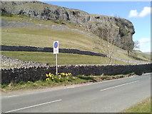 SD9768 : Kilnsey Crag by BC