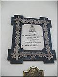 TQ2471 : St Mary's church, Wimbledon: Bazalgette memorial by Stephen Craven