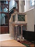 TQ2470 : St John's church: pulpit by Stephen Craven