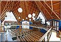 TQ4669 : St Barnabas, Rushet Road, St Paul's Cray, Kent - Interior by John Salmon