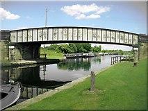 SE3724 : Kings Road Bridge - Foxholes by Mike Kirby
