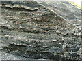 NS4178 : Ballagan Beds in Auchenreoch Glen by Lairich Rig