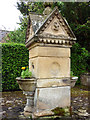 NY6665 : Memorial drinking fountain, Greenhead by Karl and Ali