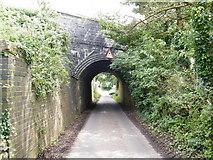 SS8178 : Railway bridge over Moor Lane by Ray Durrant