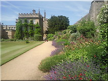 SP5106 : The gardens at New College, Oxford by Marathon