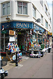 TQ8485 : Paint and hardware shop, Leigh-on-Sea, Essex by Julian Osley