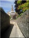 SP5106 : Narrow lane at New College, Oxford by Marathon