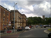 SD8913 : Town Hall Square, Rochdale by Bill Boaden