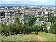 NT2674 : View towards Leith Walk from the Calton Hill by kim traynor