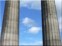 NT2674 : Pillars of the National Monument, Calton Hill by kim traynor