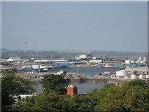 ST1973 : Queen Alexandra Dock, Cardiff by Gareth James