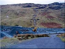 NY2213 : Slate Mine, Borrowdale, Cumbria by Graham Hogg