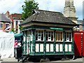 SE3171 : Cabmens Shelter, Market Place by Stanley Walker