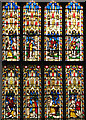 TF6120 : St Nicholas' Chapel in Kings Lynn - C19 stained glass by Evelyn Simak
